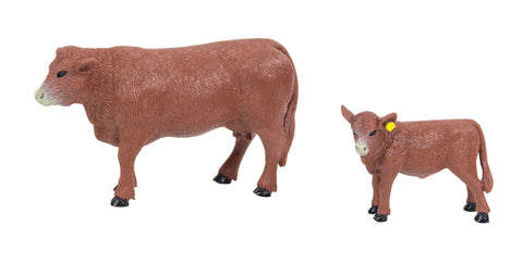 Red Angus Cow & Calf