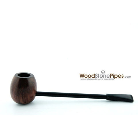 Elegant and Straight with Smooth Finish Bowl Smoking Tobacco Pipe - WoodStonePipes.com   - 5