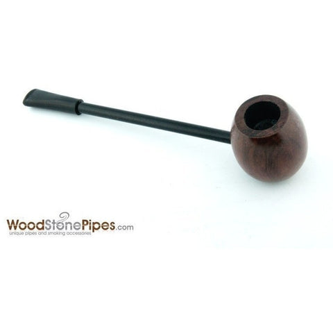 Elegant and Straight with Smooth Finish Bowl Smoking Tobacco Pipe - WoodStonePipes.com   - 7