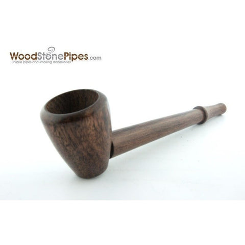 "4.5"" Mini Collectible Rosewood Wood Smoking Tobacco Pipe  Pipe - WoodStonePipes.com   - 1"