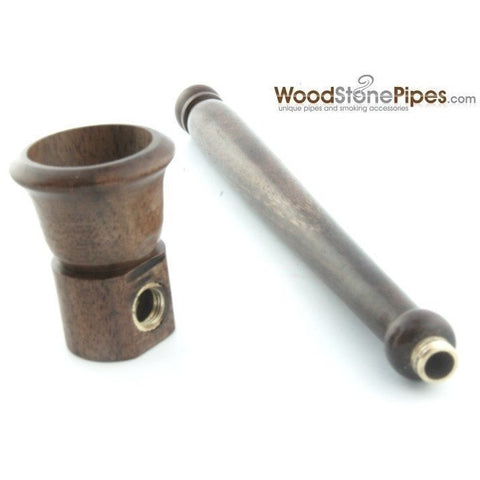 "5"" Smoking Tobacco Pipe Collectible Rosewood Pipe - WoodStonePipes.com   - 9"
