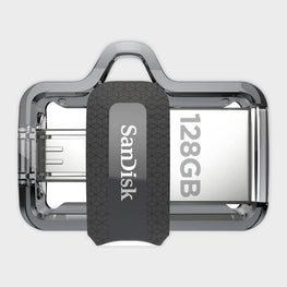 SanDisk Ultra Dual 128GB USB 3.0 OTG Pen Drive-SAN DISK-computerspace