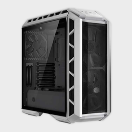 Cooler Master MasterCase H500P Mesh White Edition Cabinet-Cooler Master-computerspace