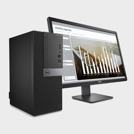 "Dell Optiplex 5060 MT with Dos and 19.5"" (inch) monitor complete desktop-DELL-computerspace"