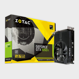 Zotac GeForce GTX 1050 Ti Mini OC 4GB Graphics Card-ZOTAC-computerspace
