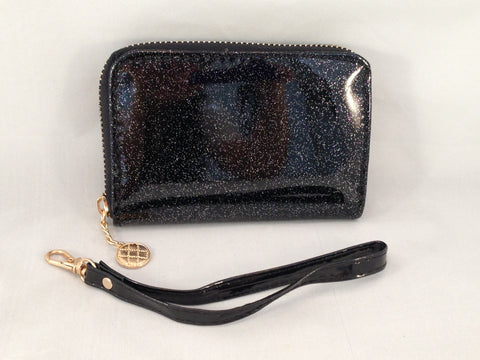 Black Glitter Wristlet Stocking Stuffer | Sparkle Farms