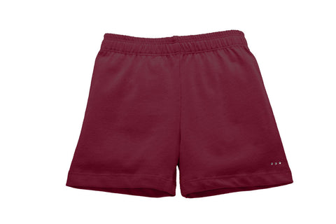 Girls Burgundy Under Uniform Playground Shorts