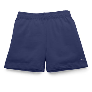 Buy girls navy blue under shorts for playground cartwheels at SparkleFarms.com