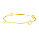 rosie sanders jewellery white enamel gold scroll stud bangle neoclassical couture