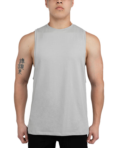 Grounded Performance Tank - Stone