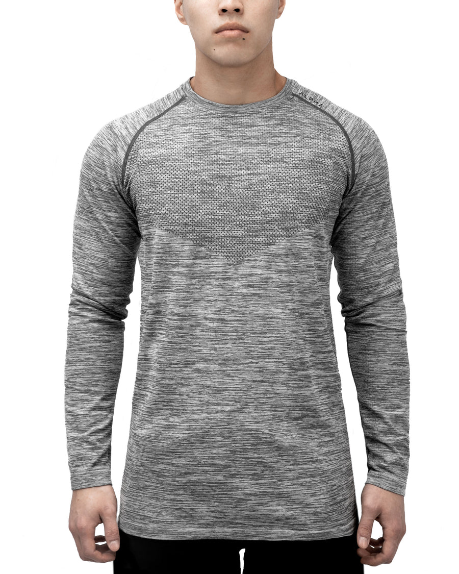 3D KNITTED™ Performance Shirt - Long Sleeve - Stone