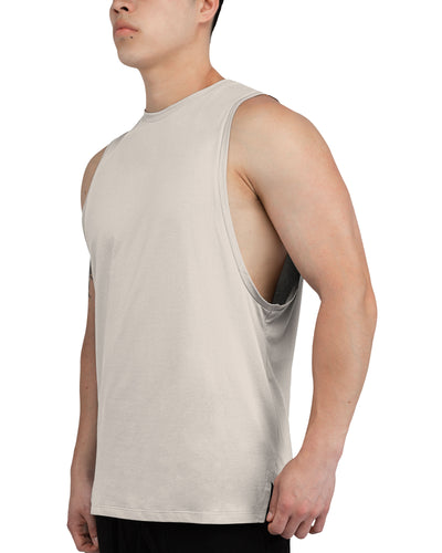 Grounded Performance Tank - Sand