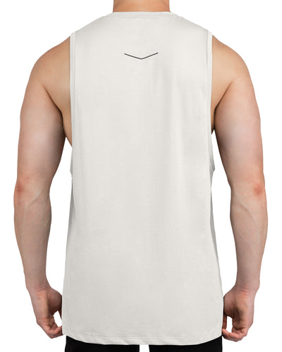 Grounded Performance Tank - Bone