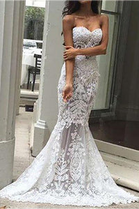 Fashion Off-Shoulder   Lace Sleeveless Evening Dress White s
