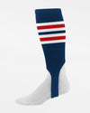 Diamond Pride Striped Stirrup, navy blau-rot-weiss-DIAMOND PRIDE