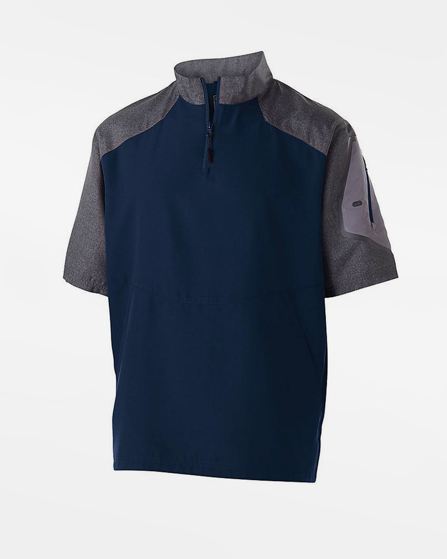 Holloway Raider Warmup Pullover, navy blau-grau-DIAMOND PRIDE