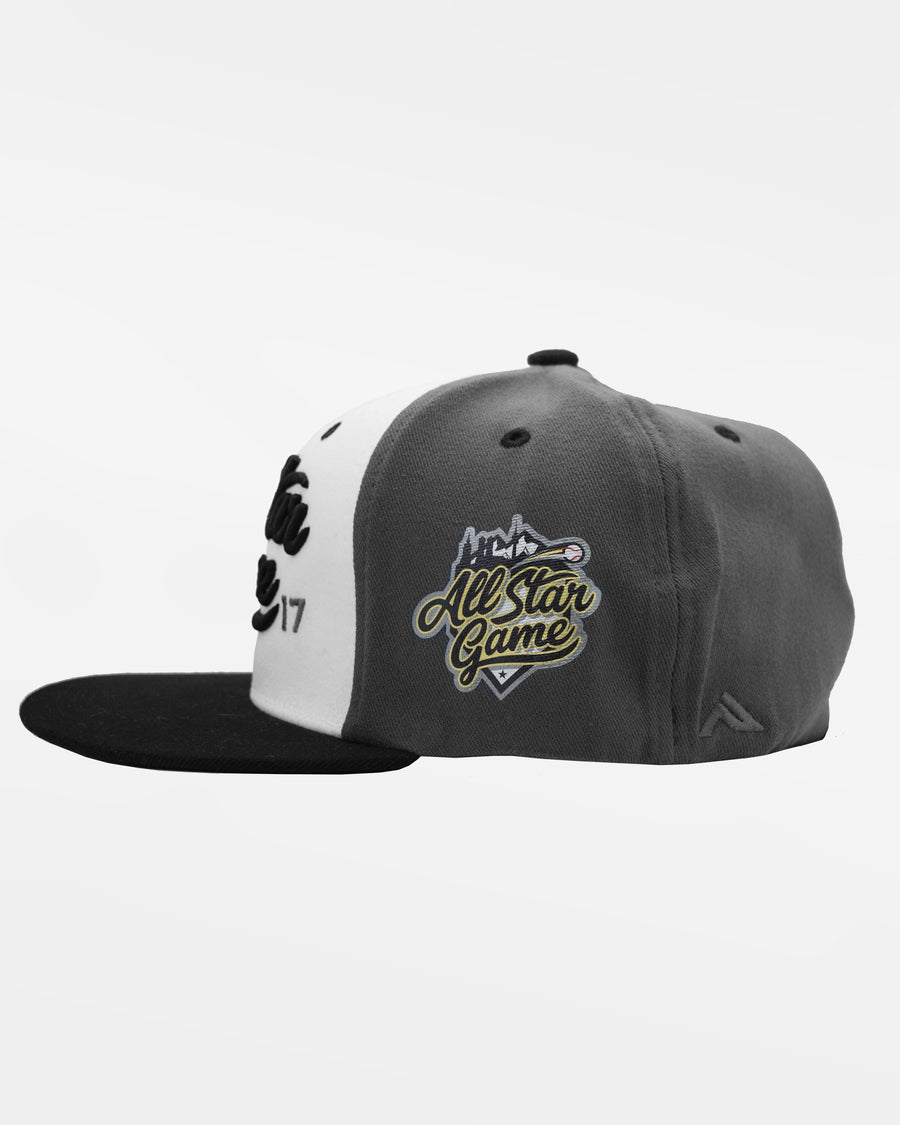 "Pacific Flexfit Cap ""All Star Game 2017"", dunkelgrau-weiss-schwarz-DIAMOND PRIDE"
