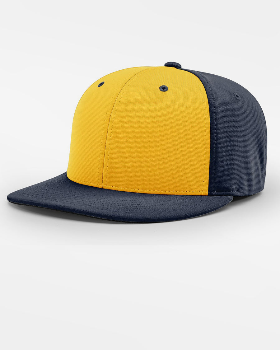 Richardson PTS20 Flexfit Alternate Cap, navy blau - gelb-DIAMOND PRIDE