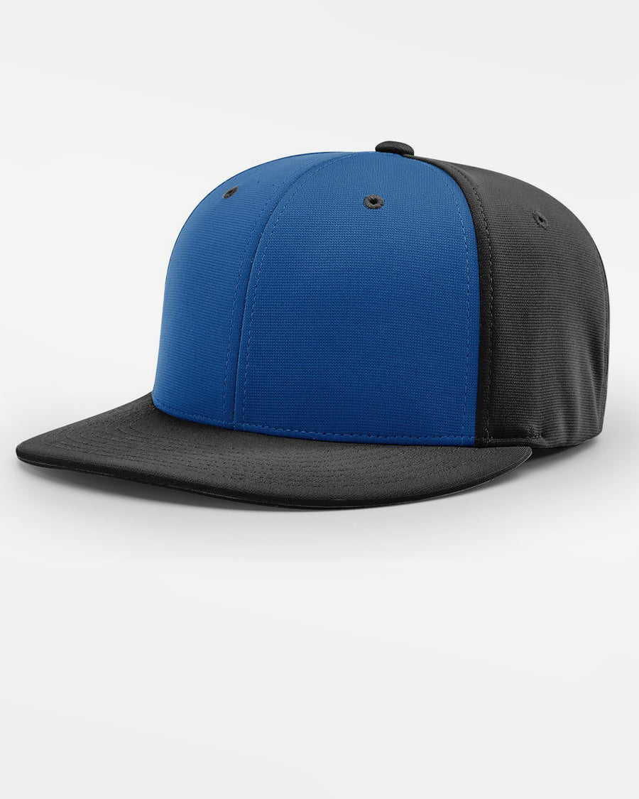 Richardson PTS20 Flexfit Alternate Cap, schwarz - royal blau-DIAMOND PRIDE