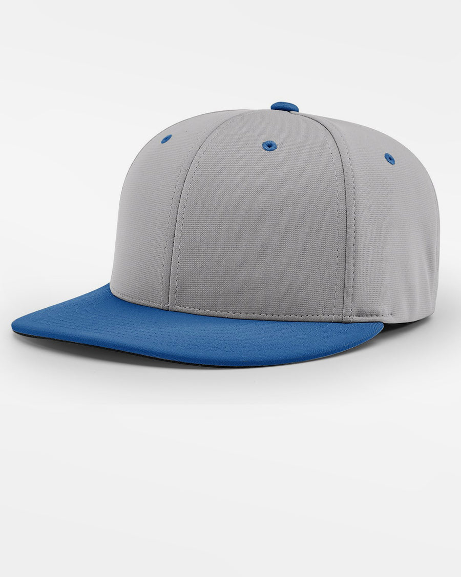 Richardson PTS20 Flexfit Cap, grau - royal blau-DIAMOND PRIDE