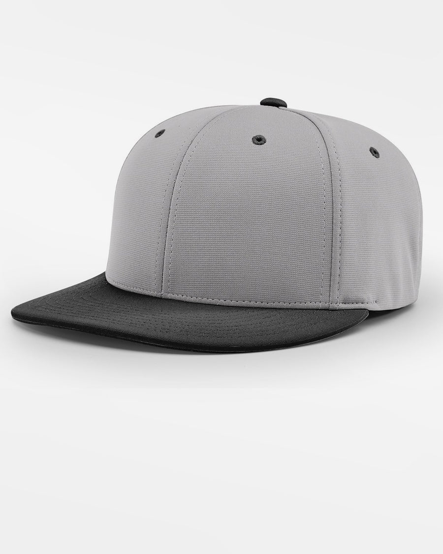 Richardson PTS20 Flexfit Cap, grau - schwarz-DIAMOND PRIDE