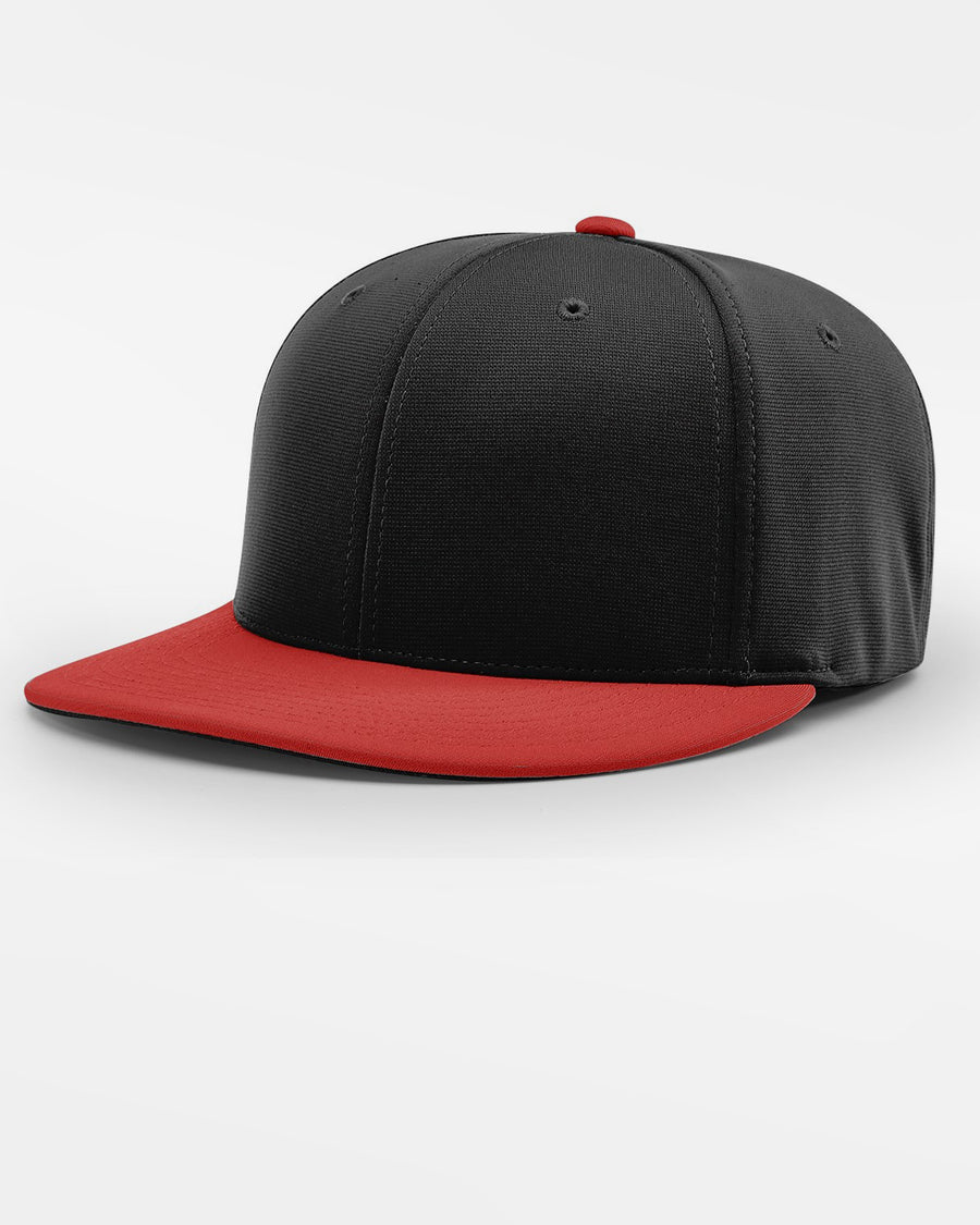 Richardson PTS20 Flexfit Cap, schwarz - rot-DIAMOND PRIDE