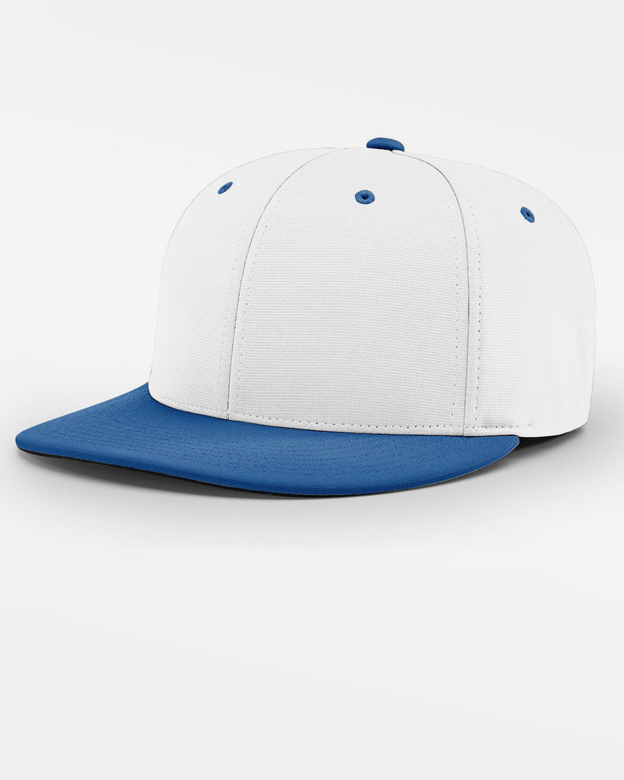 Richardson PTS20 Flexfit Cap, weiss - royal blau-DIAMOND PRIDE