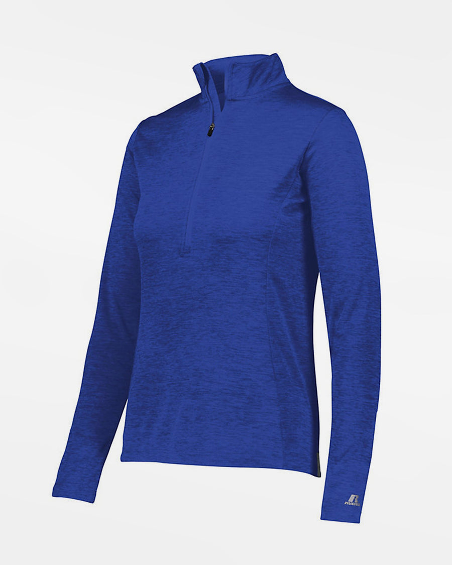 Russell Athletic Dri-Power Ladies Lightweight 1/4-Zip Pullover, heather royal blau-DIAMOND PRIDE