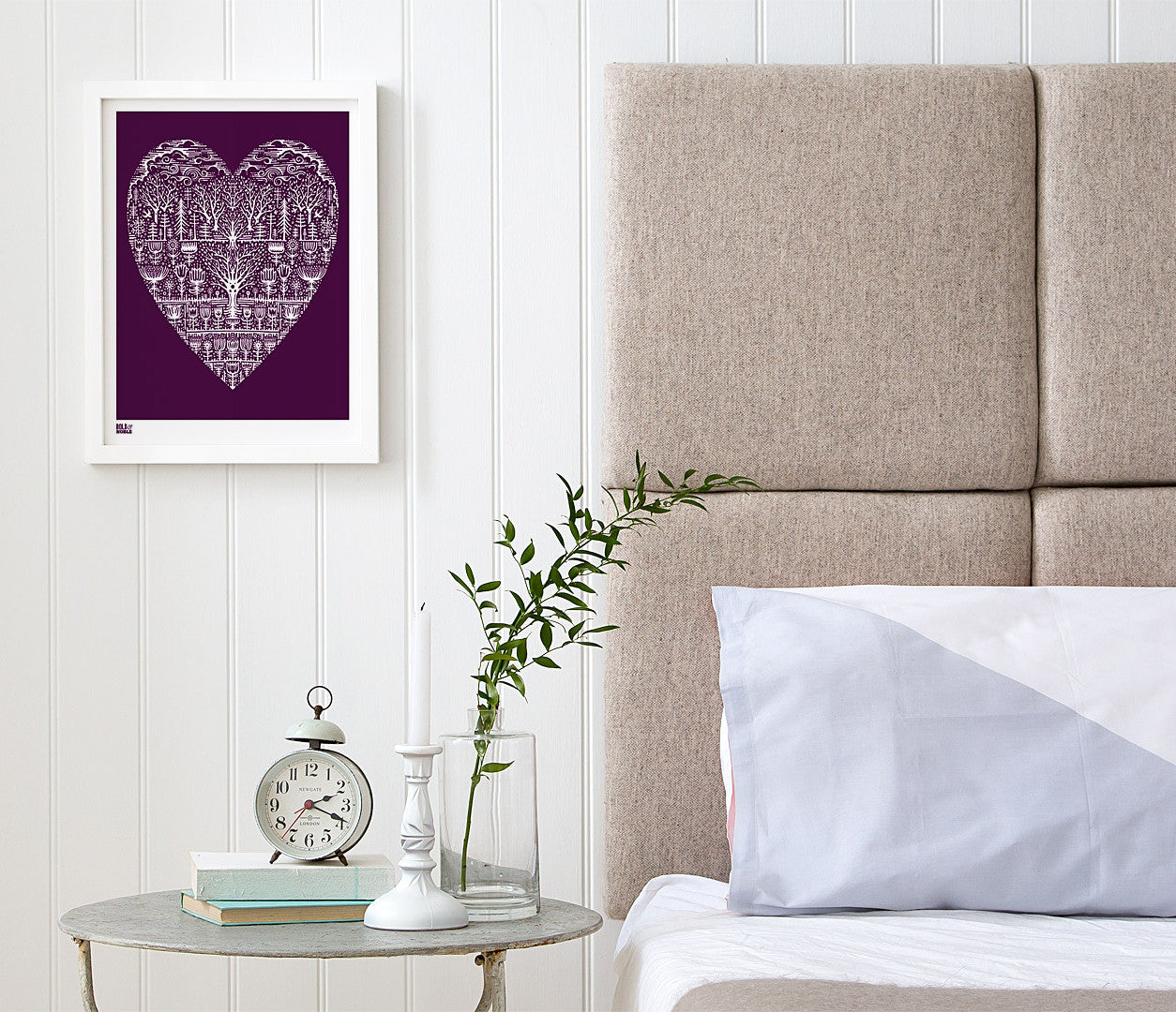 Wild Wood Art Print, Modern Print Designs for the Home