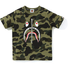 1ST CAMO SHARK TEE KIDS