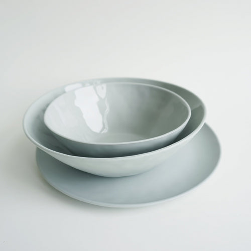 NEW! Bowl GREENGRAY 19cm