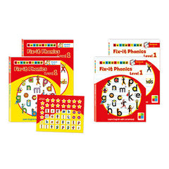 Level 1 Fix-It Phonics Student set