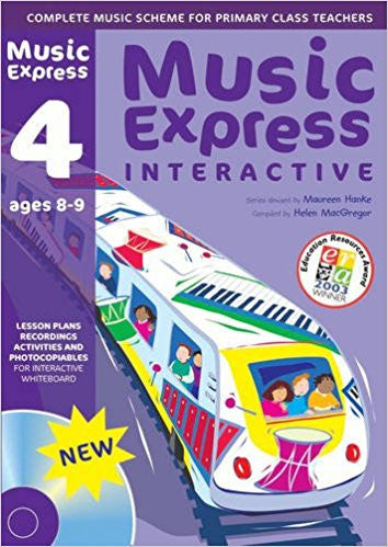 Music Express Interactive: 4 (age 8-9)