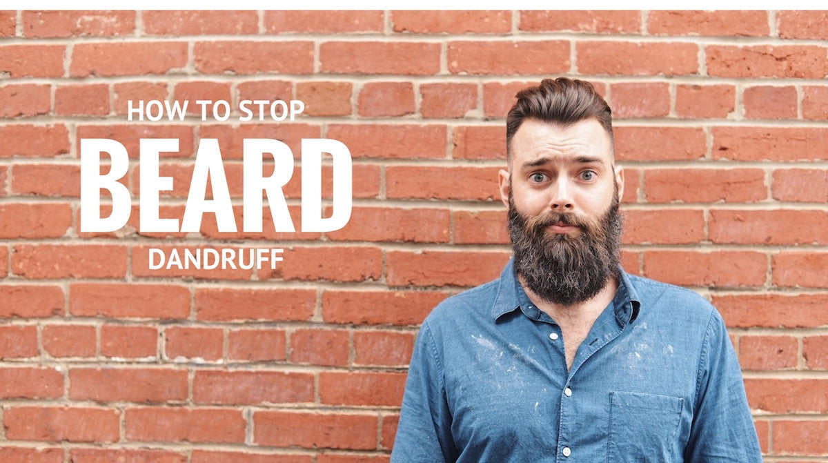 Blog | How to stop beard dandruff | stubble and stache