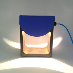 Lampe R-V /// Dark is Blue