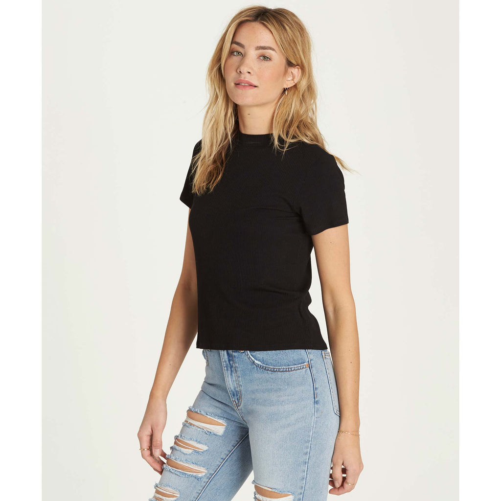 Billabong Women's Mix Up Top | Black