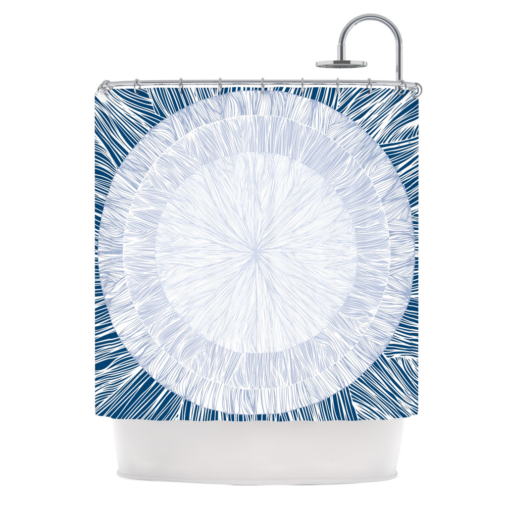 "Anchobee ""Pulp"" Shower Curtain - Outlet Item"