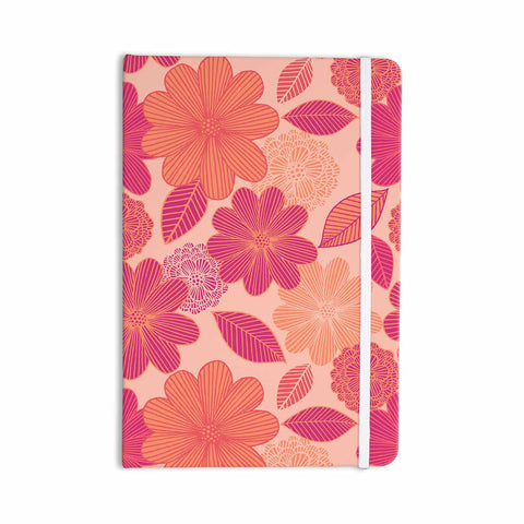 "Julia Grifol ""Lovely Flowers"" Pastel Magenta Digital Everything Notebook"