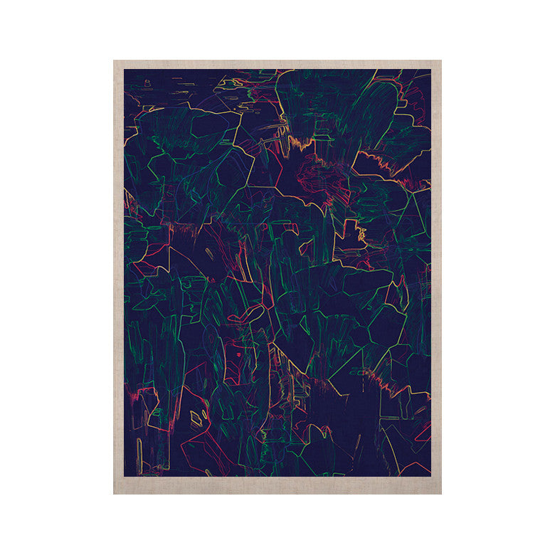 "Kathryn Pledger ""Night Life"" KESS Naturals Canvas (Frame not Included) - KESS InHouse  - 1"