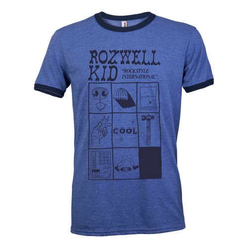 Rozwell Kid - Rock Style International Ringer Tee