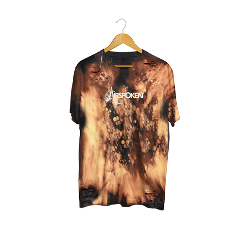 Airspoken - Bleached & Tattered Tee