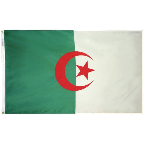 Algeria Flag - ColorFastFlags | All the flags you'll ever need!