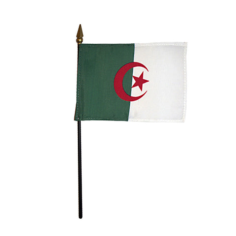 Miniature Algeria Flag - ColorFastFlags | All the flags you'll ever need!