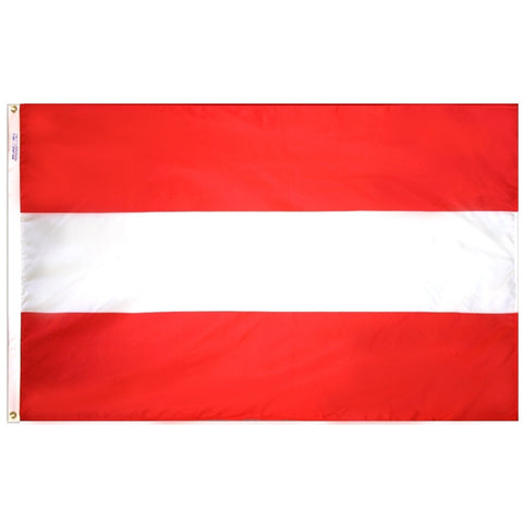 Austria Flag - ColorFastFlags | All the flags you'll ever need!