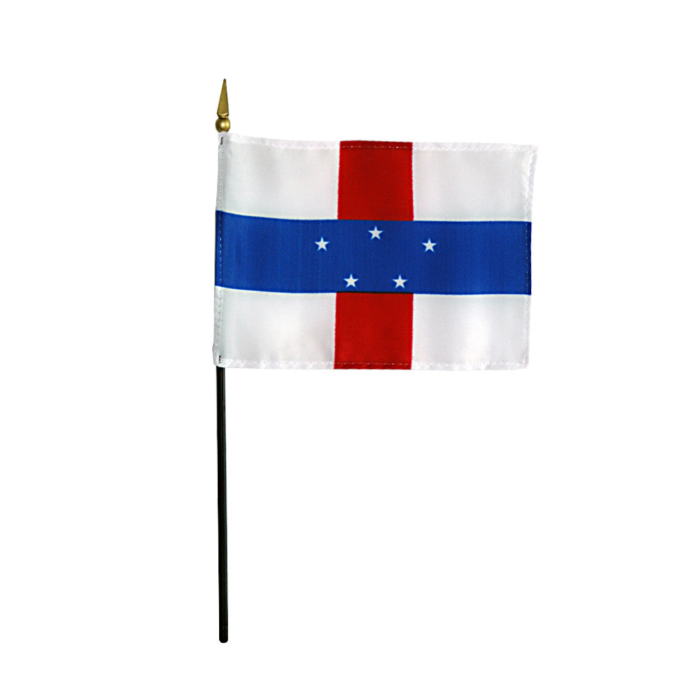 Miniature Netherlands Antilles Flag - ColorFastFlags | All the flags you'll ever need!