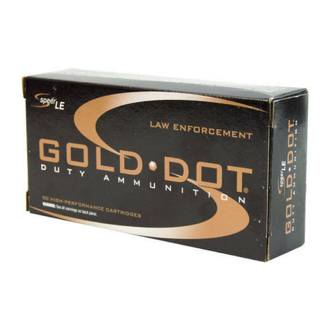 Speer 9MM +P 124 Gr Gold Dot Duty Ammunition GDHP (50)