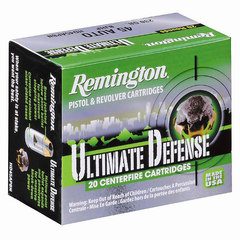 Remington 45 ACP 230 Gr Ultimate Defense Brass Jacketed HP (20)