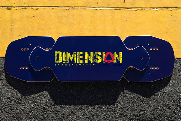 Dimension Yellow Logo Bar and Decks