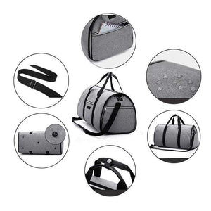 2 in 1 Garment + Duffle Bag - Shopping Gadgets at GadgetRock
