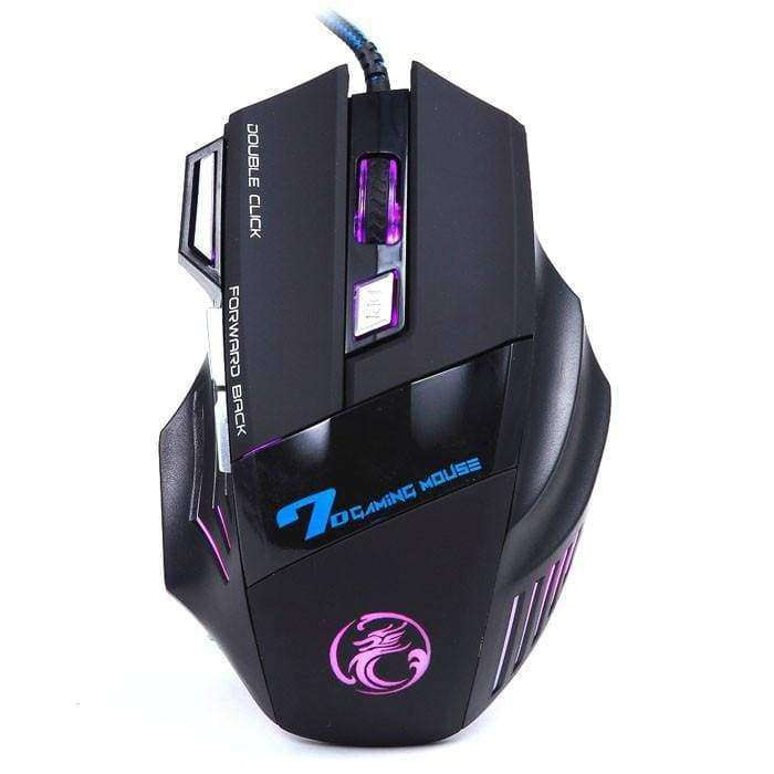3200DPI LED Optical 7D USB Wired Gaming Mouse - Shopping Gadgets at GadgetRock